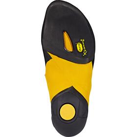 La Sportiva Skwama Pies de gato, black/yellow